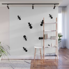 Ants Crawling Everywhere Little Black Army Ants Bugs Wall Mural