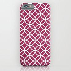 Circles Pink iPhone 6s Slim Case