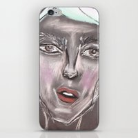 sketch iPhone & iPod Skins featuring sketch by Gayana Manukova