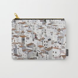 HOUSES - TALL - WHITE Carry-All Pouch