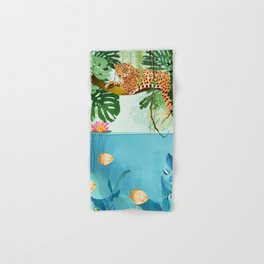 Welcome to the Jungle Hand & Bath Towel