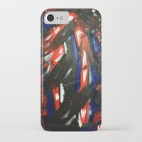 rave iPhone & iPod Cases featuring Rave by Myles Hunt