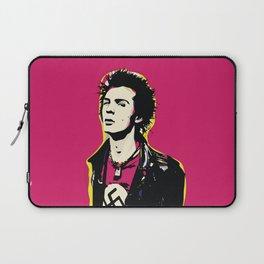 Sid Vicious Pop Art Quote Punk Portrait Laptop Sleeve
