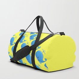 Save the Whales (Yellow) Duffle Bag
