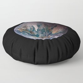 The Blue Marble - Western Hemisphere - Earth From Space Floor Pillow