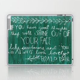 Good Thoughts Laptop & iPad Skin