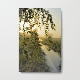 Natures Drapes Metal Print