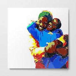 Afrika Love Metal Print