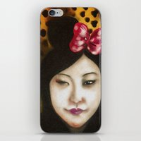 minnie iPhone & iPod Skins featuring minnie by NAME THEGREY