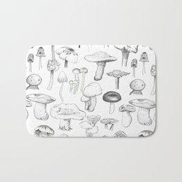The mushroom gang Bath Mat
