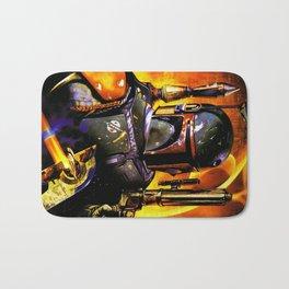Space Bounty Hunter Bath Mat