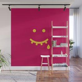 MAYBE HAPPY, MAYBE SAD Wall Mural