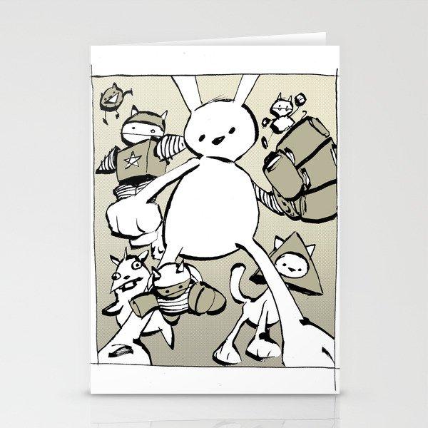 minima - beta bunny Stationery Cards
