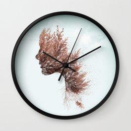 Face of nature Wall Clock