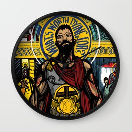 Revelation 5 Wall Clock