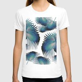 Fan Palm Leaves Paradise #1 #tropical #decor #art #society6 T-shirt
