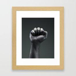 Protest Hand Framed Art Print