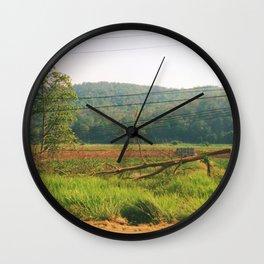 Dirt Road Wall Clock