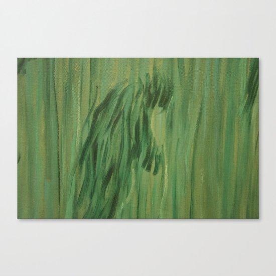 The man 6 Canvas Print
