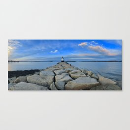 Spring Point Ledge Canvas Print