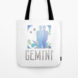 Gemini - air sign Tote Bag