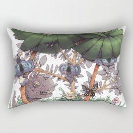 The Kiwis and Koalas Rectangular Pillow
