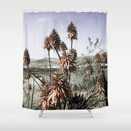 #cactlanzarote part I Shower Curtain