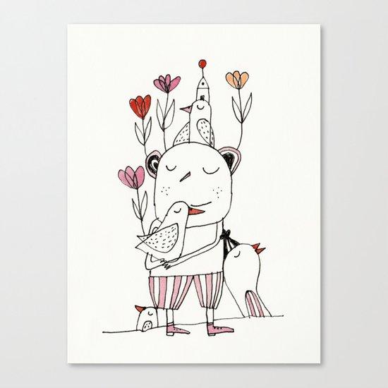 tulips for springtime Canvas Print