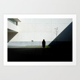 Concrete Shadows Art Print