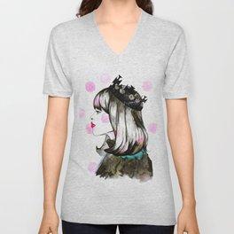 Fashion princess Unisex V-Neck