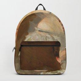 John Singer Sargent - Portrait of Esther Fiske Hammond, Mrs. Gardiner Greene Hammond Backpack