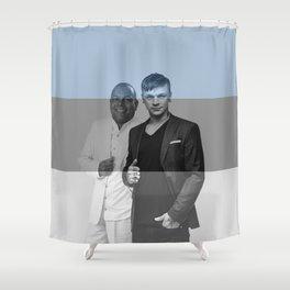 ESC Estonia 2001 Shower Curtain