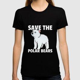 Polar Bear Ice Bear North Pole T-shirt
