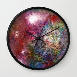 Darkly Dreaming Wall Clock