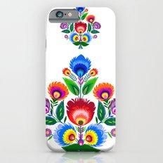 folk flowers ornament  iPhone 6 Slim Case