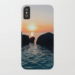 Sunset by the Sea // Landscape Photography iPhone Case