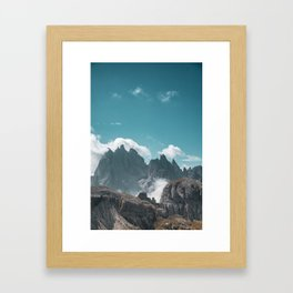 Dolomites Poster Portrait, Italy, Printable Photography, Nature, Landscape, Print, Wall Art Framed Art Print