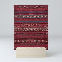 Oriental Moroccan Rug Design C4 Mini Art Print
