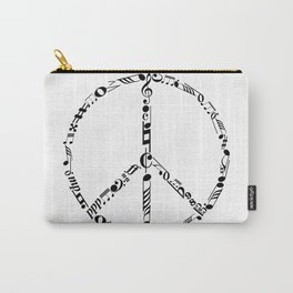 Music peace Carry-All Pouch