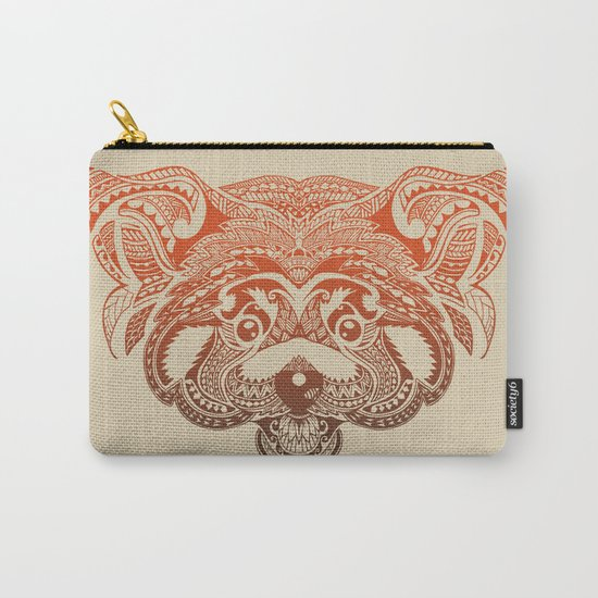 Polynesian Red Panda Carry-All Pouch