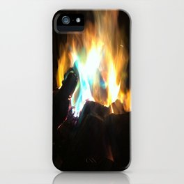 Blue Flame iPhone Case