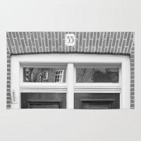 door Area & Throw Rugs featuring door by habish