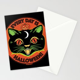 Every Day is Halloween Stationery Cards