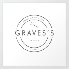 Percival Graves Training Art Print