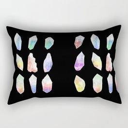 Crystal Collection: Watercolour Pastel Rectangular Pillow
