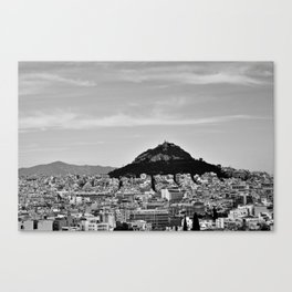 3 days in Athens, 2016 Canvas Print