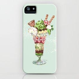 Greentea Parfait iPhone Case