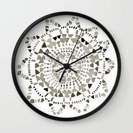 Watercolor Doily - Katrina Niswander Wall Clock