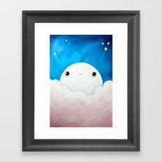 moon man Framed Art Print