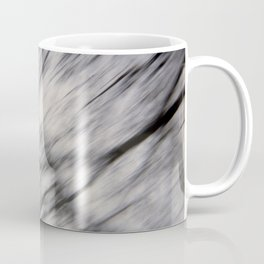Blurry Tree Branches  Coffee Mug